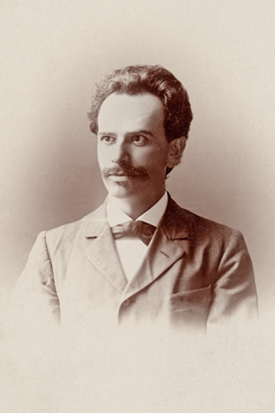 Franz Boas, 1893. Photograph by WSM (?) Smith, 418 Sixty-Third St., Chicago. Courtesy of the American Philosophical Society Library, U5-1-22.